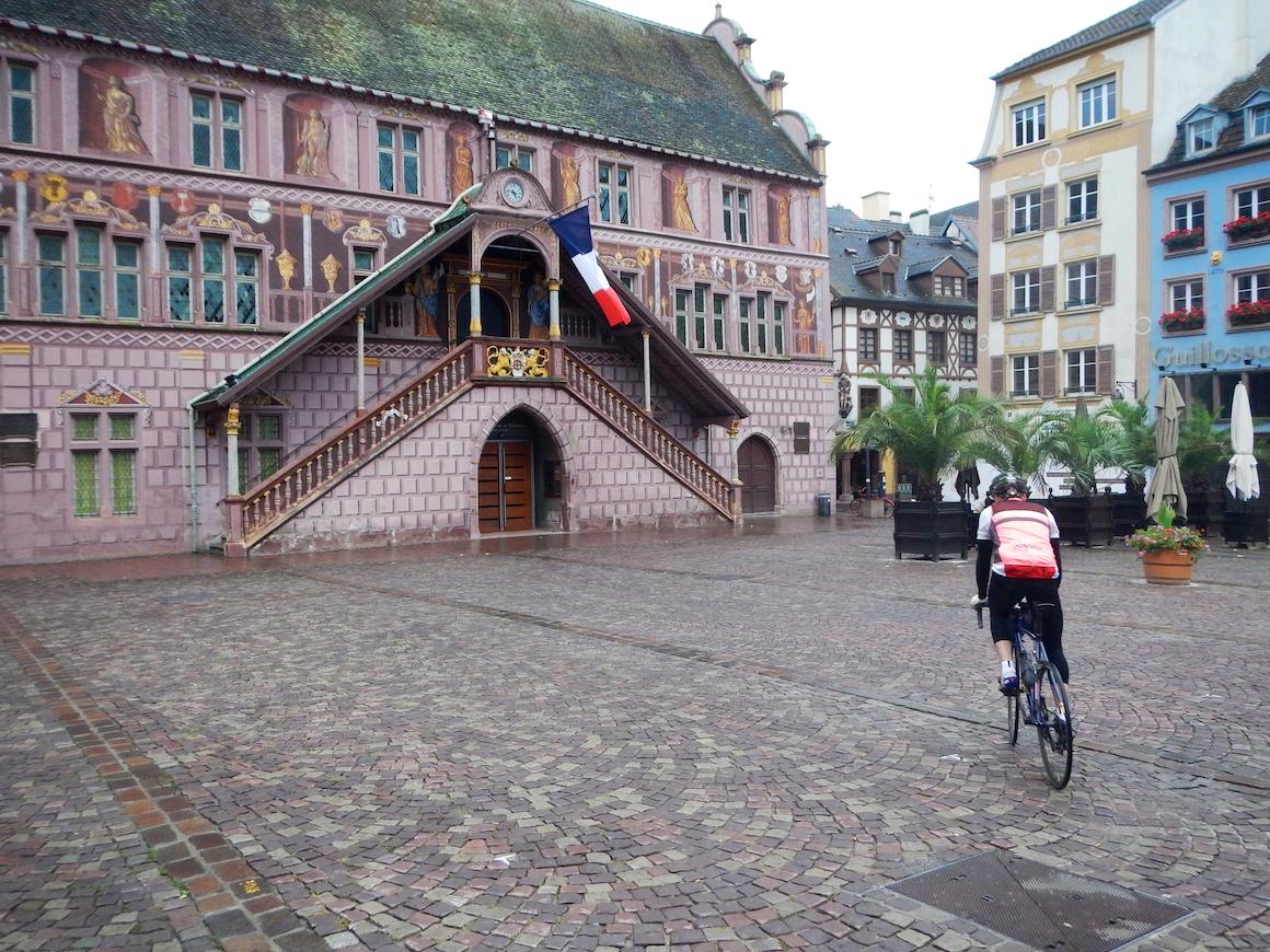 Die Innenstadt von Mulhouse.